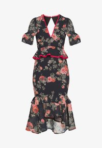 Hope & Ivy Petite - Shift dress - dark blue floral - 4