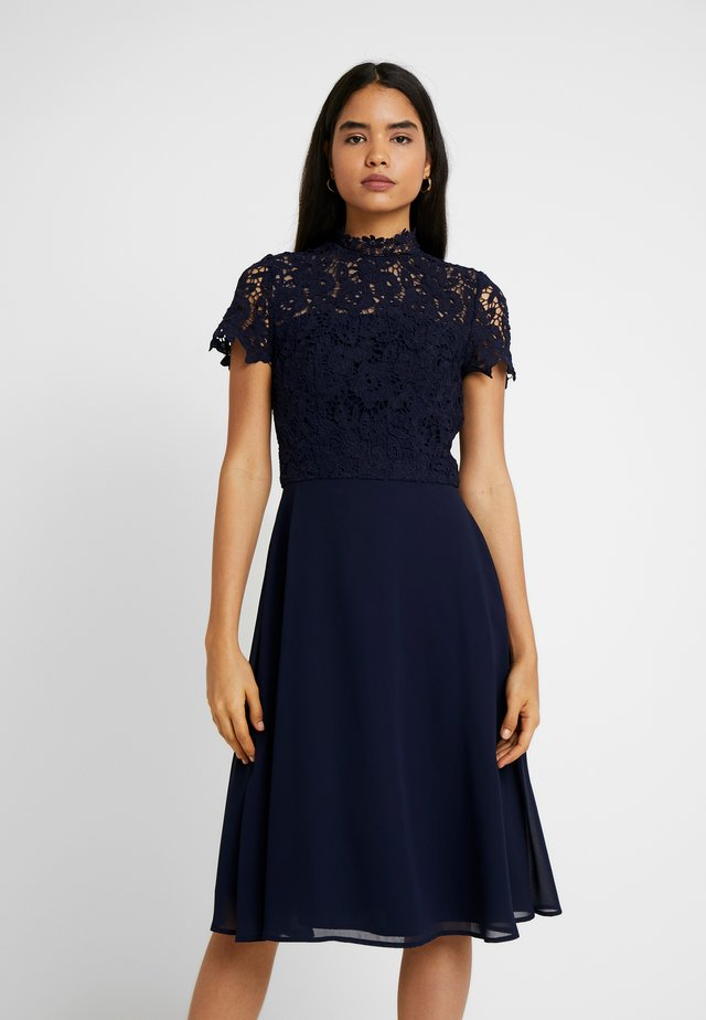 ANISE - Cocktailjurk - navy