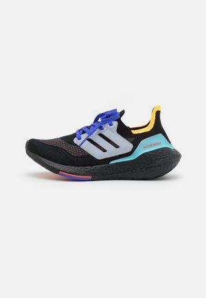 ULTRABOOST 21 UNISEX - Neutrala löparskor - core black/footwear white/pulse aqua