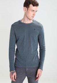 G-Star - BASE 1-PACK  - Camiseta de manga larga - dark slate - 0