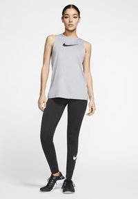 Nike Performance - Top - particle grey/black - 1