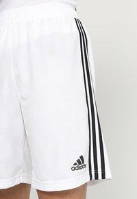 adidas Performance - TAN - Krótkie spodenki sportowe - white - 4