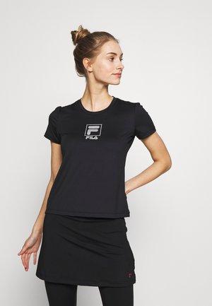 ANGIE - T-shirts med print - black