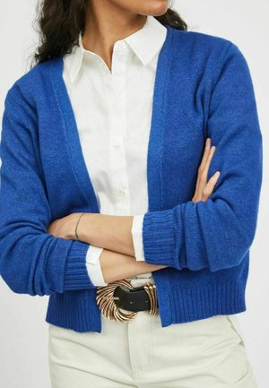 VIRIL - Strikjakke /Cardigans - mazarine blue