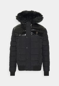 SIKSILK - ELITESHORT PARKA - Winterjas - black - 3