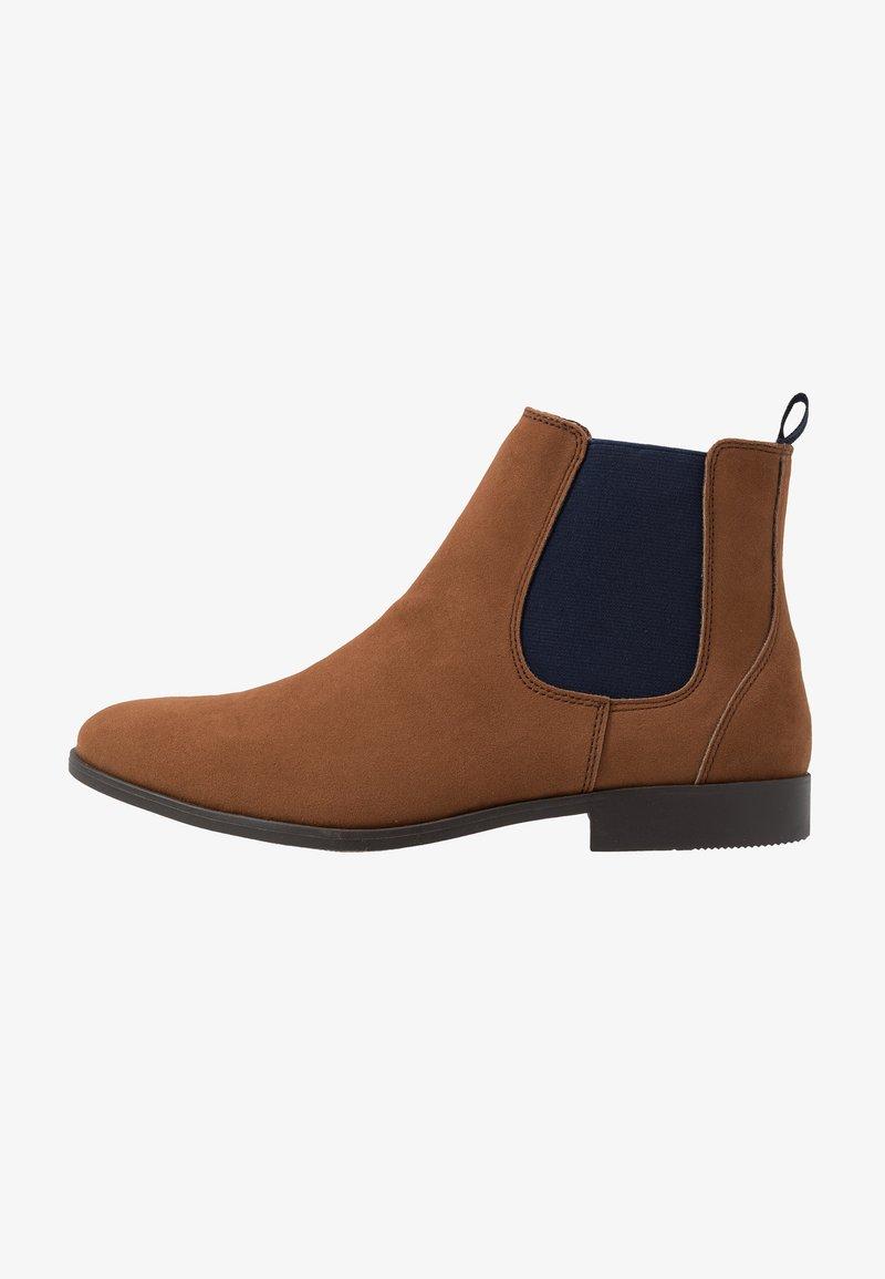 Pier One - Classic ankle boots - cognac