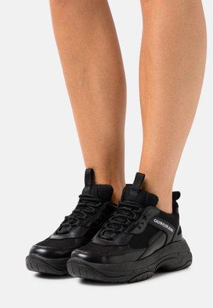 CHUNKY SOLE LACEUP - Trainers - black