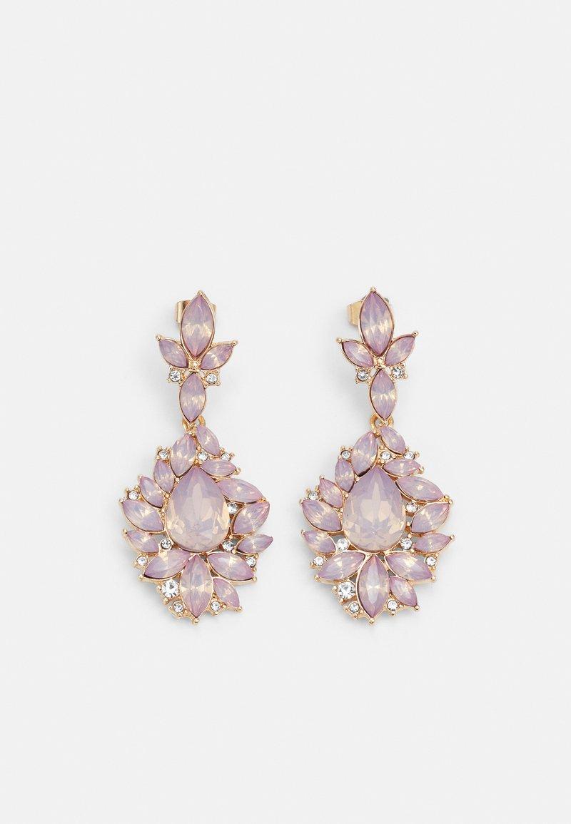 Pieces - PCSAGA EARRINGS - Orecchini - gold color