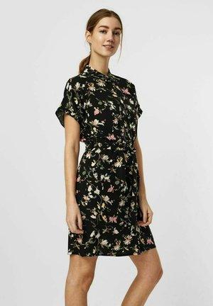 VMSIMPLY EASY SHIRT DRESS - Paitamekko - black