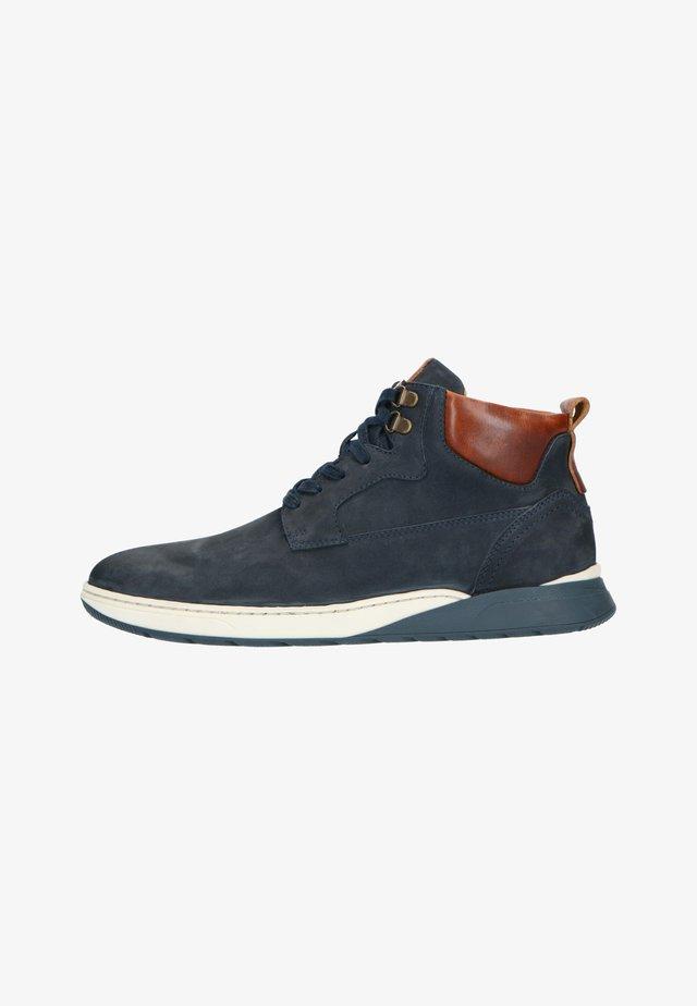 Sneakers hoog - blau