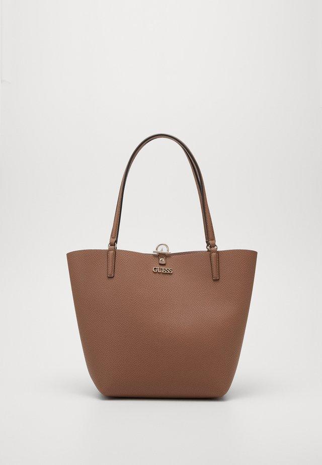 Shopping bag - taupe/blush