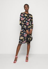 Versace Jeans Couture - LADY DRESS - Jersey dress - black - 1