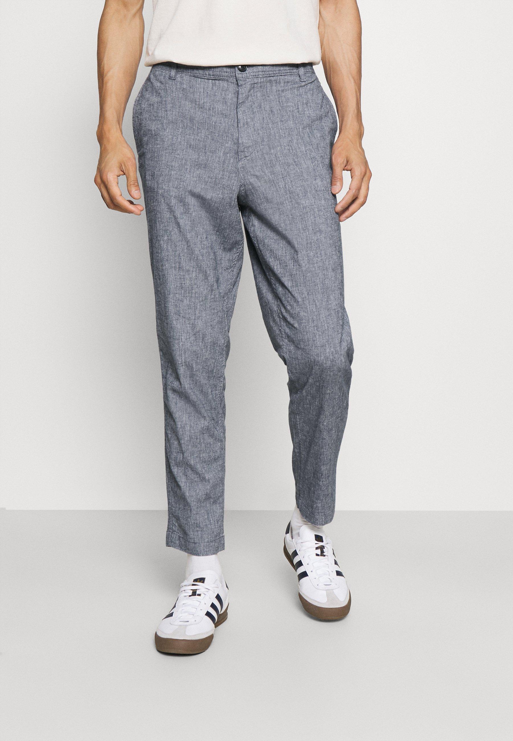 Uomo SLHSLIMTAPERED ISAC PANTS - Pantaloni