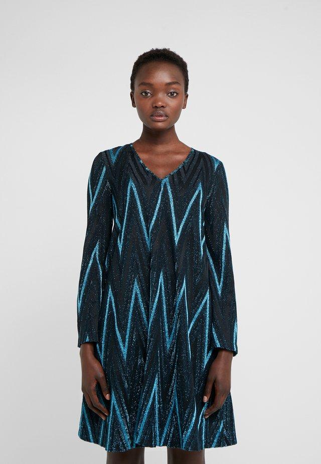ABITO - Vestido de punto - blue