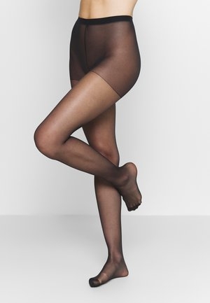 SHEER THIGHS BEAUTY 2 PACK - Tights - black