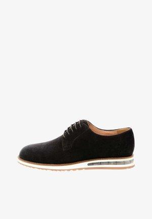 PANTALLO - Volnočasové šněrovací boty - brown