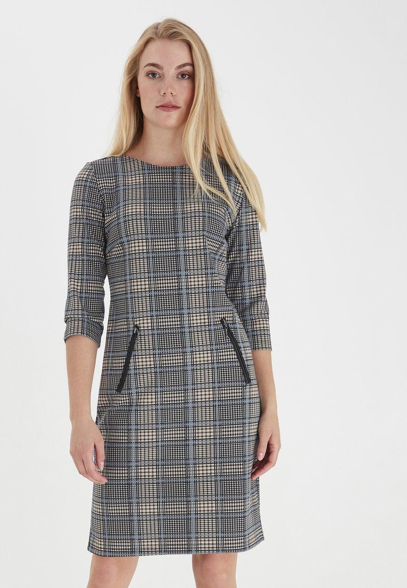 Fransa - Jersey dress - della robbia blue mix