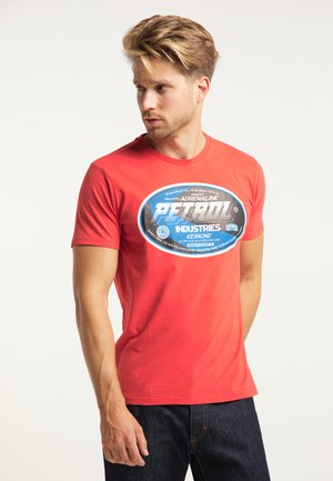 T-SHIRT - Triko s potiskem - red chili