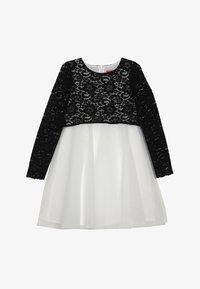 Derhy Kids - ELISA - Vestito elegante - blanc/noir - 3
