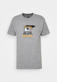 Obey Clothing - OFFLINE - Print T-shirt - heather grey - 0