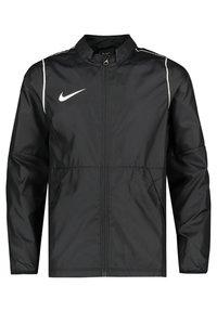 Nike Performance - PARK 20 REPEL REGENJACKE KINDER - Verryttelytakki - schwarz / weiss (910) - 0