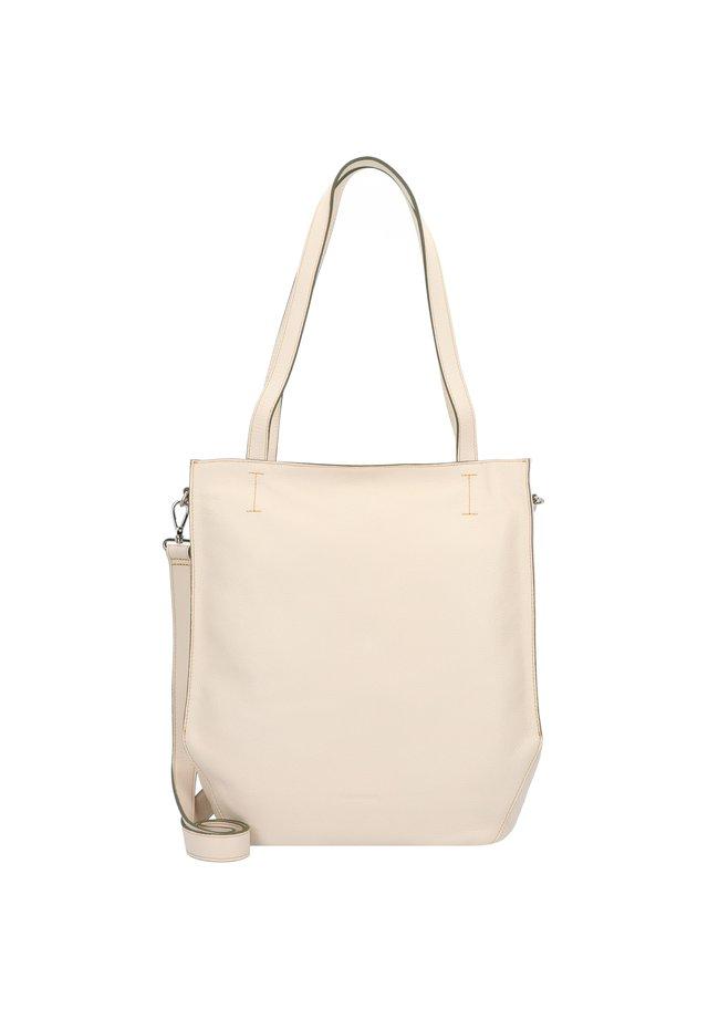 MELFI SCHULTERTASCHE LEDER 33 CM - Handbag - beige