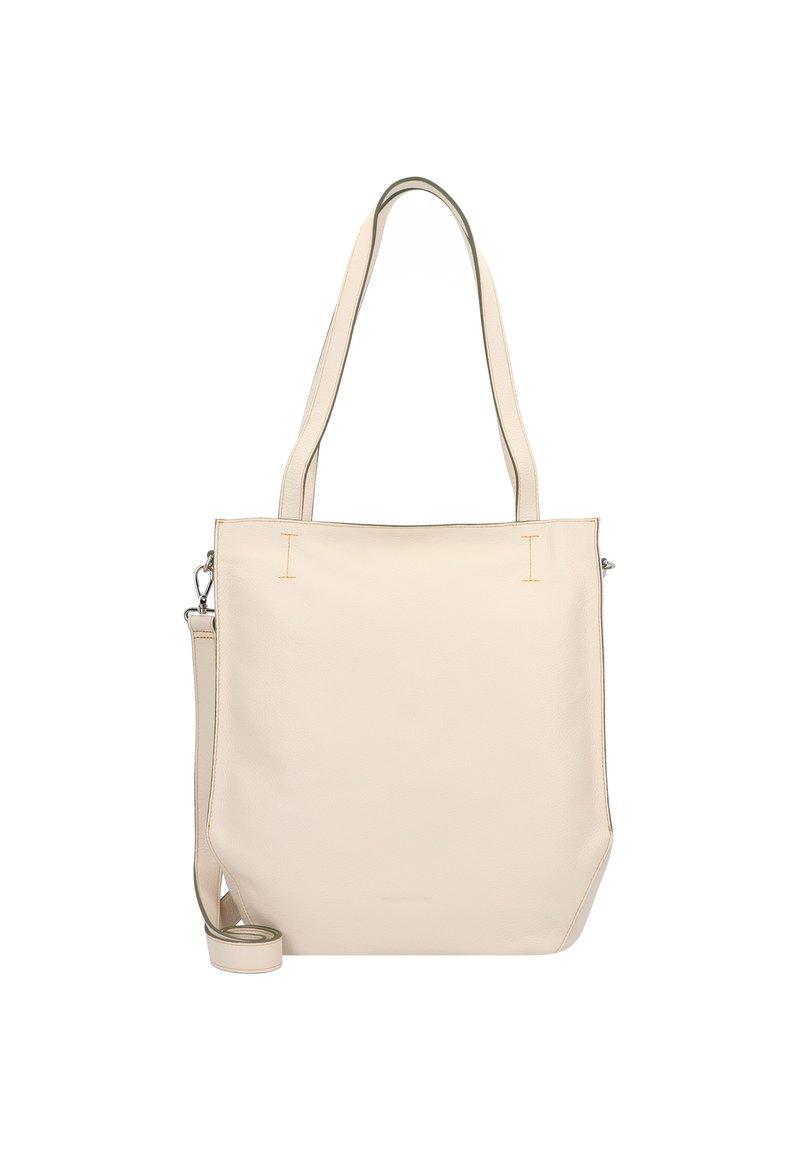 FREDsBRUDER - MELFI SCHULTERTASCHE LEDER 33 CM - Handbag - beige
