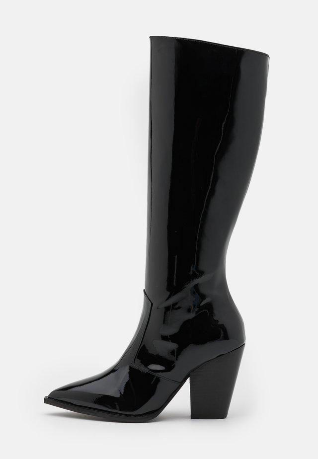 BOTTES - Vysoká obuv - black