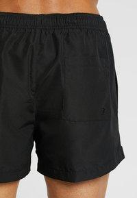 Calvin Klein Swimwear - SHORT DRAWSTRING - Swimming shorts - black - 1