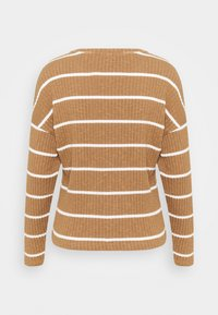 ONLY - ONLCARLA TOP - Jumper - toasted coconut/cloud dancer - 1