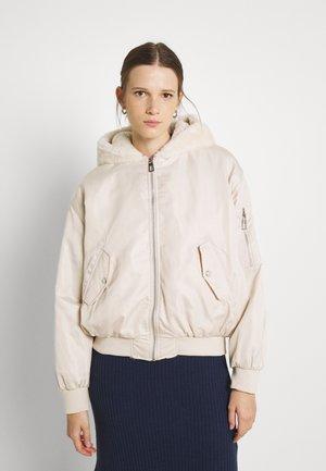 ONLCARA JACKET - Winter jacket - pumice stone