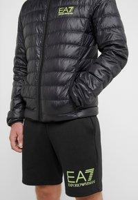 EA7 Emporio Armani - Down jacket - black / neon / yellow - 3