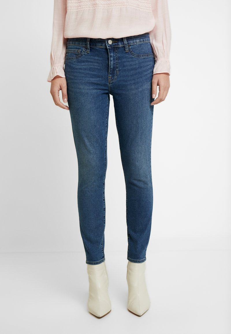 GAP - FAVORITE RINSE - Jeans Skinny Fit - dark indigo