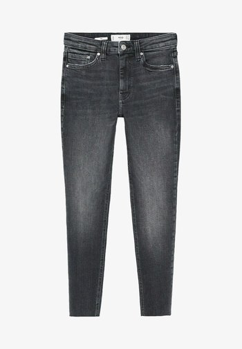 ISA - Jeansy Skinny Fit - open grijs