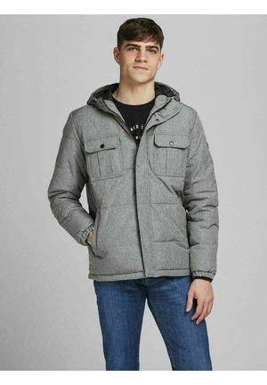 SAISONLOOK - Down jacket - light grey melange
