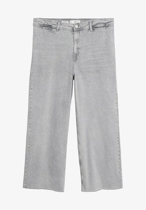 Relaxed fit jeans - denim grau