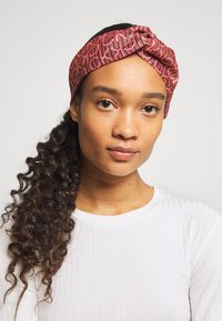 Calvin Klein - DIGITAL PRINT HEADBAND - Hair Styling Accessory - pink - 2
