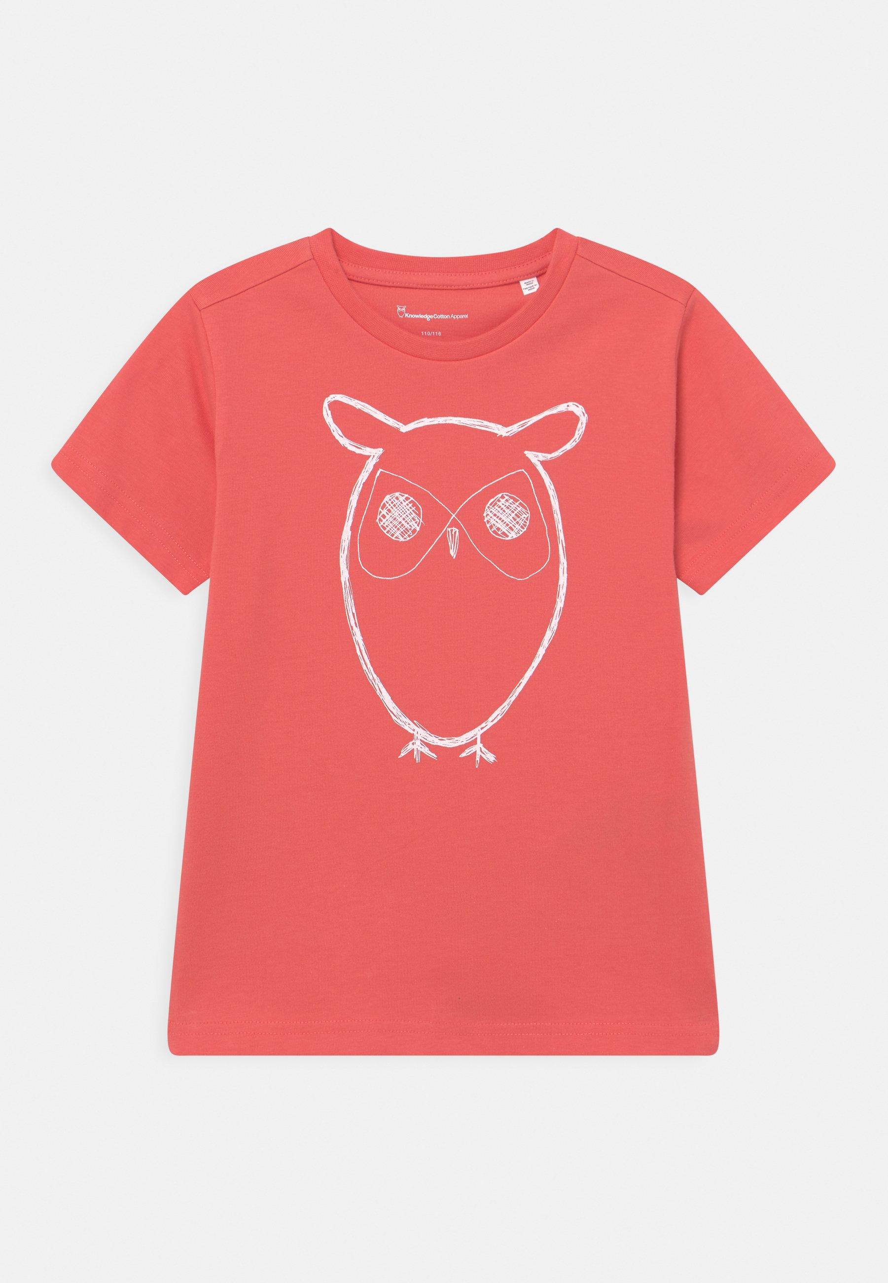 Bambini FLAX OWL TEE - T-shirt con stampa