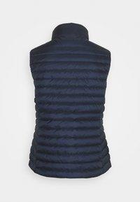 GANT - LIGHT GILET - Waistcoat - evening blue - 1