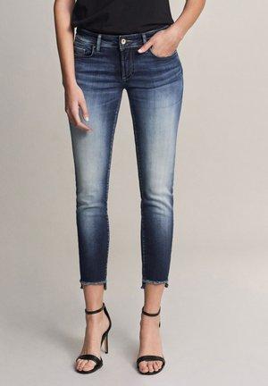 PUSH UP - Jeans slim fit - dark-blue denim