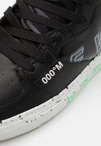F_WD - Sneakers hoog - black iridescent/lentic dark grey - 5