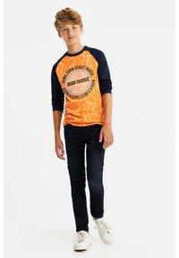 WE Fashion - Jeans slim fit - dark blue - 1