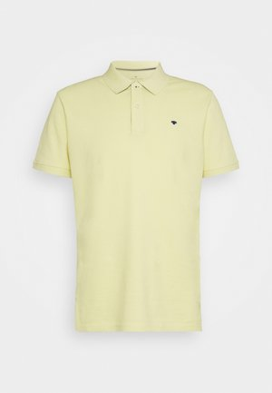 BASIC WITH CONTRAST - Poloshirt - pale straw yellow