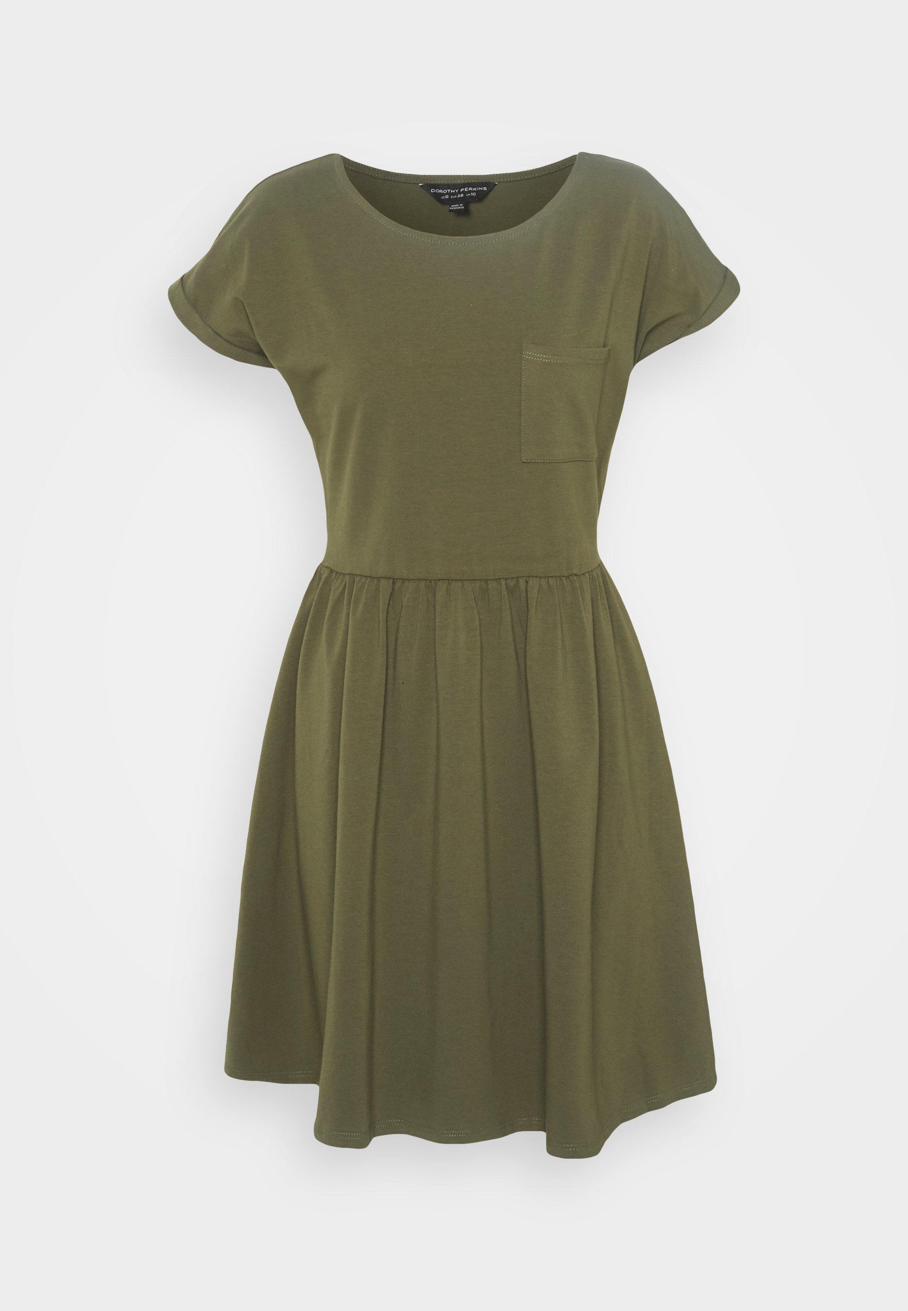 Women SMOCK DRESS - Jersey dress