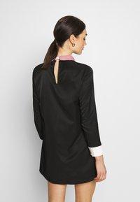 Sister Jane - JEWEL FLORET MINI SHIFT DRESS - Vestido informal - navy blue - 2
