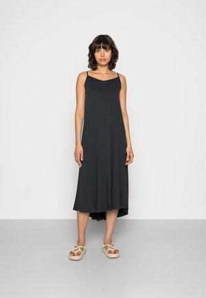 FINIA DRESS - Jersey dress - black