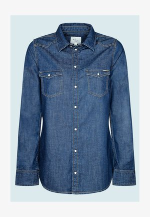 RHONDA - Button-down blouse - denim