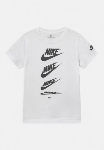 CASCADING FUTURA AIR TEE - T-shirt z nadrukiem - white