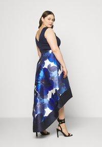 Chi Chi London Curvy - BRAY DRESS - Occasion wear - navy - 2