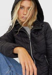 Stradivarius - Light jacket - black - 3